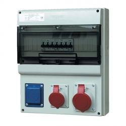 D431.1011-EFJ - zásuvková rozvodnice s elektroměrem