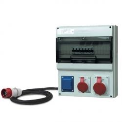 D431.1011-EFJK - zásuvková rozvodnice s elektroměrem