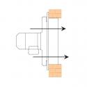 AXIA HD 50 6M  - vysoce odolný průmyslový axiální ventilátor