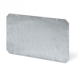654.0791 Montážní pozinkovaný plech do krabic SCABOX 460x380