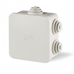 680.003 Instalační krabice SCABOX IP44 - 80x80x40mm s vývodkami