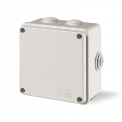 685.004 Instalační krabice SCABOX IP55 - 100x100x50mm s vývodkami