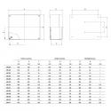 686.409 Instalační krabice hluboká SCABOX IP56 - 300x220x170mm