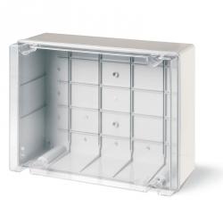 686.430 Instalační krabice hluboká průhledná SCABOX IP56 - 380x300x170mm