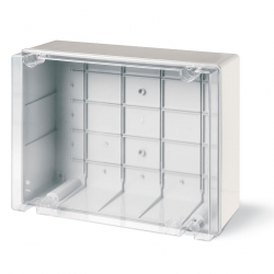 686.431 Instalační krabice hluboká průhledná SCABOX IP56 - 450x370x180mm