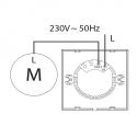 SGS E1 – dotykový regulátor otáček ventilátoru