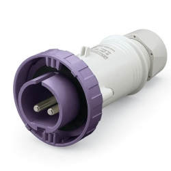 235.1600 Vidlice SCAME 24V/16A dvoupólová IEC309 na 24V