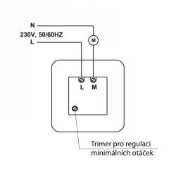 CDT 300/1,5 – regulátor otáček