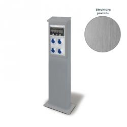 Pilíř nerezový pro zásuvkové rozvodnice BLOCK 4