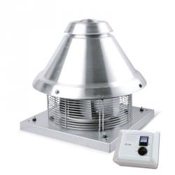 TURBOCAMINO - komínový ventilátor pro odvod spalin s regulátorem
