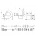 CB 230 2M EX ATEX - radiální ventilátor