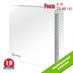 ECO 100 –  tichý  ventilátor s automatickou klapkou a nízkou spotřebou