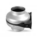 TURBO 125 ES - kovový radiální potrubní ventilátor