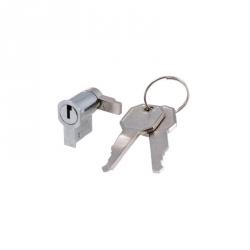 654.0074 Zámek s klíčem pro skříně FLAT METAL IP40