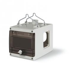 623.3500 - Závěsná prázdná kostka pro 3x zásuvku a 6 modulů DIN
