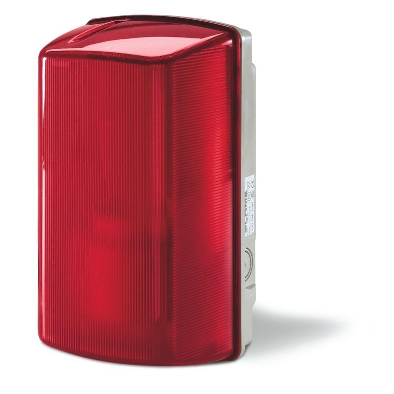 781.2761 - Nástěnné svítidlo MIZAR IP44 - červené