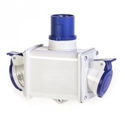 600.1623 - Dvojcestný adaptér 230V/16A IP44