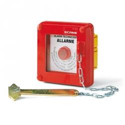 676.25100 - Tlačítkový hlásič požáru pod omítku IP55