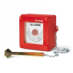 676.35100 - Tlačítkový hlásič požáru na omítku IP55