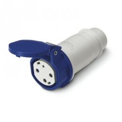 Zásuvka na kabel TYP-3A 16A 200-250V IP44
