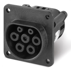 Vestavná zásuvka TYP-2 COMPACT 32A 200-400V IP44