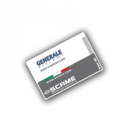 Uživatelská karta (RFID) s technologií HF