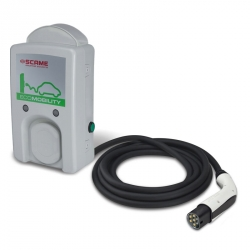 Nabíjecí stanice WallBox WB 7kW s kabelem a konektorem TYP-2