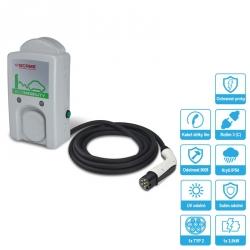 204.WB11P-T21 Nabíjecí stanice WB 3,5kW s kabelem a konektorem TYP-2