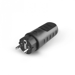 SCAME 110.3100 Vidlice 230V/16A, gumová IP20/IP44