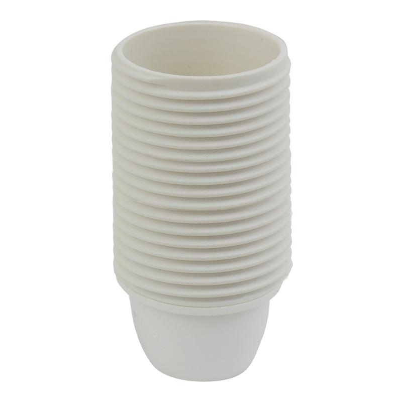 190.2000FGB - Objímka plastová E14 se závitem, bílá