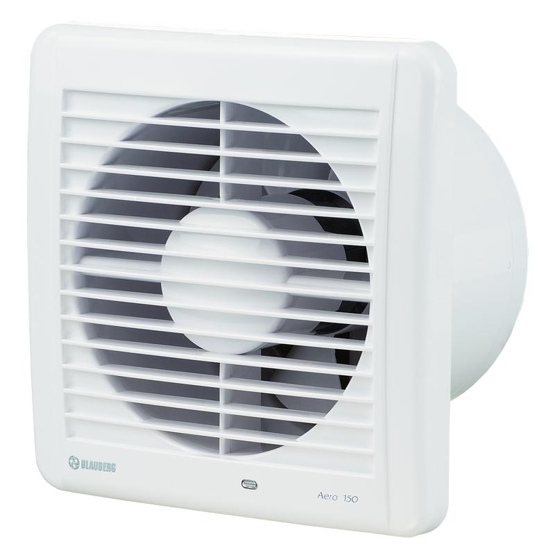Aero 150H - koupelnový ventilátor s hydrostatem