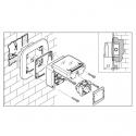137.121 - pod omítková krabice jednoduchá pro Protecta IP66