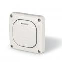 137.3311P - vodotěsné tlačítko 10A STLAČ bez krabice, série Protecta IP66