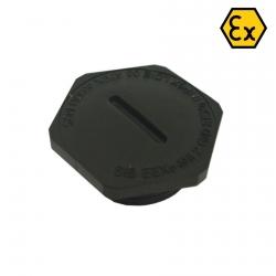 805.EX5816.K - ATEX ucpávka se závitem M16x1,5 černá