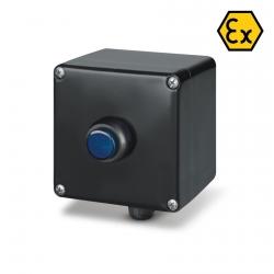 644.0345-LDB Signalizační krabice LED (modrá) ZENITH Ex II 2GD