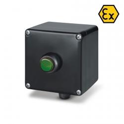 644.0345-LDG Signalizační krabice LED (zelená) ZENITH Ex II 2GD