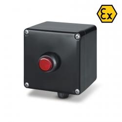 644.0345-LDR Signalizační krabice LED (červená) ZENITH Ex II 2GD