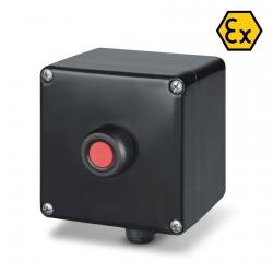 644.0345-PBR Ovládací tlačítko (červené) ZENITH Ex II 2GD