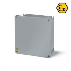 653.9000 Hliníková krabice ALUBOX-Ex II 3GD - 100x100x59mm