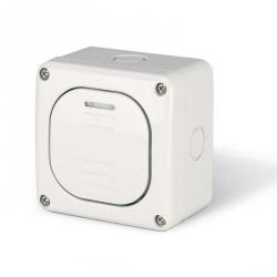 137.5011 - vodotěsný spínač č.1 10A s krabicí, série Protecta IP66
