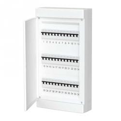 678.3036.BW Nástěnná rozvodnice 36 modulů, bíle dveře, IP40