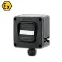 592.R001-01 ATEX vypínač 250V/16A - 1xM20 (II 2 GD)