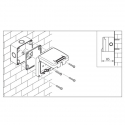 137.5112 - vodotěsný spínač č.7 20A s krabicí, série Protecta IP66