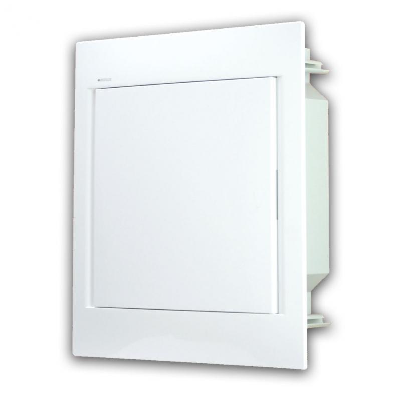 Rozvaděč do zdi 24 modulů, bíle dveře, IP40