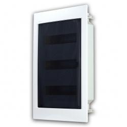 Rozvaděč do zdi 36 modulů, transparentní dveře, IP40
