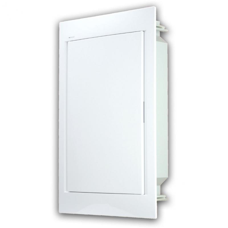 Rozvaděč do zdi 36 modulů, bíle dveře, IP40