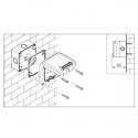 137.5221 - vodotěsný spínač č.5B(6+6) 10A s krabicí, série Protecta IP66