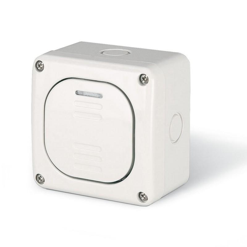 137.5462 - vodotěsný spínač č.2 20A s krabicí, série Protecta IP66