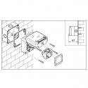 137.6411 - vodotěsná zásuvka 16A,250V s krabicí, série Protecta IP66