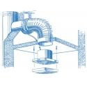 Aero 100H - koupelnový ventilátor s hydrostatem
